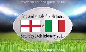 Round 2 of 6 Nations England V Italy  @ Twickenham Stadium